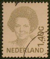 Koningin Beatrix 1,40 Gld NVPH 1494 (Mi 1413) 1991 Gestempeld / USED NEDERLAND / NIEDERLANDE - 1980-... (Beatrix)