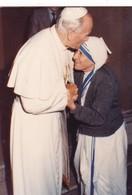 Photo Du Pape Jean-Paul II Et De Mère Teresa - Printemps 1983 - Tirée Sur Papier Kodak - Religion & Esotericism