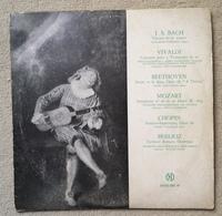 Disque Vinyle 33 T 1/3 VIVALDI BACH MOZART BEETHOVEN CHOPIN BERLIOZ Club National Disque 33 Tours 25cm - Formats Spéciaux