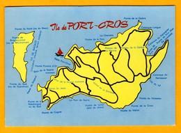 Ile De Port Cros     Edt  CIM - Maps