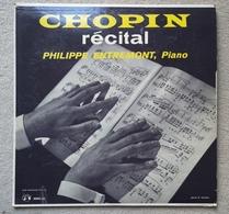 Disque Vinyle 33 T 1/3 CHOPIN Piano Récital Philippe Entremont Disque 33 Tours 25cm MMS 80 - Formats Spéciaux