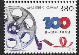 SOUTH KOREA, 2019, MNH, CINEMA, KOREAN MOVIES,1v - Cinema