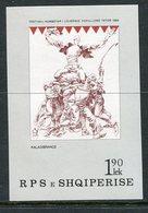 ALBANIA 1985 National Festival Block  MNH / **.  Michel Block 86 - Albania
