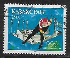 Kazakhstan  1994 Winter Olympic Games - Lillehammer, Norway Used - Kazakhstan