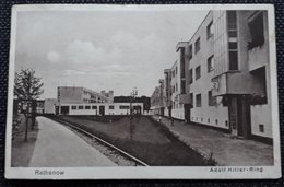 AK 1935, RATHENOW Adolf Hitler-Ring, Gelaufen - Rathenow