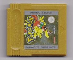 Jeu Game Boy  Pokemon Version Or En Etat De Marche - Nintendo Game Boy