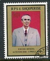 ALBANIA 1985 Death Of Hoxha Used.  Michel 2256 - Albanie