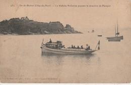 22 - ILE DE BREHAT - La Vedette Bréhatine Prenant La Direction De Paimpol - Ile De Bréhat