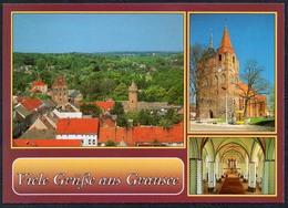D1012 - TOP Gransee Kirche - Bild Und Heimat Reichenbach - Qualitätskarte - Gransee