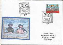 ARANDA DE DUERO BURGOS CC CON MAT ELCANO MAGALLANES PRIMERA VUELTA AL MUNDO MAGALHAES - Esploratori