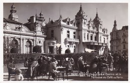 MONTE CARLO LE CASINO ET LA TERRASSE DU CAFE DE PARIS (dil317) - Monte-Carlo