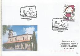 AMURRIO ALAVA CC CON MAT IGLESIA SANTA MARIA CHURCH - Chiese E Cattedrali