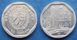 "CUBA - 1 Centavo 2002 ""Plaza De La Revolucion"" KM# 729 Second Republic (1962- Date) - Edelweiss Coins - Cuba"
