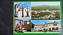 """Uncirculated Postcard, S. Brás De Alportel (Algarve), Portugal, """"Architecture"""", """"Churches, """"Monuments"""", """"Landscapes"""" - Portugal"""
