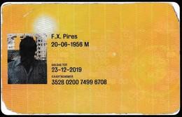 Pays-Bas/ Netherland PASSE 2009 - Ov-Chipkaart - Abonnements Hebdomadaires & Mensuels