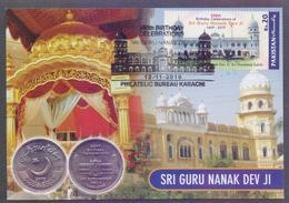 PAKISTAN MAXIMUM CARD 2019 - 55th Birthday Celebrations Of Sir Guru Nanak Dev Ji - Pakistan