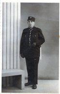 (132)  Photo Originale . Gendarme 1937 Photographe Jerome 1937  ( 12.5 Cm X 8 Cm) - Krieg, Militär