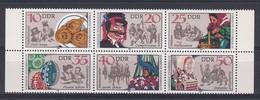 DDR Kleine Verzameling 1982 Nr 2365/70 **, Zeer Mooi Lot K1029 - Timbres