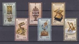 DDR Kleine Verzameling 1983 Nr 2439/44 **, Zeer Mooi Lot Krt 4200 - Timbres
