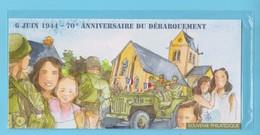 J.P.S. -  France - Bloc Feuillet Souvenir - N° 93 - Sous Blister - Anniversaire Du Débarquement - Blocs Souvenir