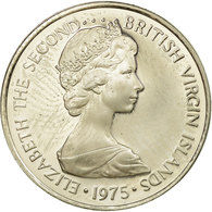 Monnaie, BRITISH VIRGIN ISLANDS, Elizabeth II, 5 Cents, 1975, Franklin Mint - Iles Vièrges Britanniques