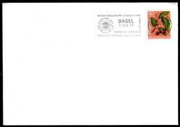 07762) Schweiz - Brief - Flaggenstempel OO 4000 Basel Vom 7.-16.6.1974 Internationale Briefmarkenausstellung - Poststempel