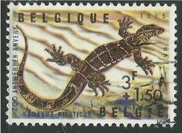 Belgique 1965 N° 1403 (o) Zoo Von Antwerpen (III): Reptilien - Belgique