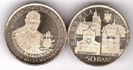 Romania - 50 Bani 2019 UNC The Apostolic Journey Of His Holiness Pope Francis Lemberg-Zp - Romania