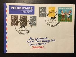 Réunion Plaine Des Cafres Maison Du Volcan 2007 - Marcophilie (Lettres)