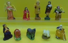 Fève - Santon De La Crèche Nativité Renaissance - Lot De 10 Fèves - Ref AFF 2004 100 - Santons