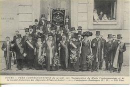 TOURS  Fête Compagnonnique 24 Sept 1911  Compagnons  Boulangers - Tours