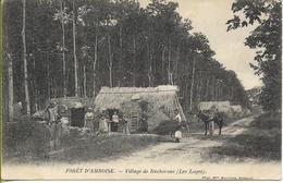 AMBOISE Village De Bucherons Les Loges (cabanes En Brande, Animation) - Amboise