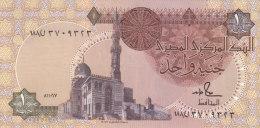 EGYPT 1 EGP POUND 1987 1991 P-50d SIG/HAMED #18 UNC */* - Egypte