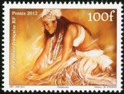 FRENCH POLYNESIA 2012 Heiva Woman Dancer MNH - Sonstige