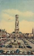 Brugge, Halletoren, Oldtimers VW Kever, Käfer, Coccinelle, Enz... (pk65846) - Brugge