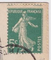 YT 137 Semeuse Variété Piquage (Joli !) - CP RARE Fêtes De La Victoire Militaria - EC 878 - Bouart Reymond Genève - Unclassified