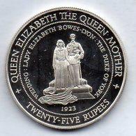 SEYCHELLES, 25 Rupees, Silver, Year 1994, KM #79 - Seychelles