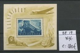 1948. Blocs  19 **. Postfrich.  Yv. 180,-euros - Blocks & Sheetlets