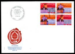 07763) Schweiz - 2x Mi 1027 / 1028 - Brief - SoSt OO 4000 Basel Vom 07.-16.06.1974 - INTERNABA 74 - Poststempel