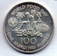 SEYCHELLES, 100 Rupees, Silver, Year 1981, KM #45a - Seychelles