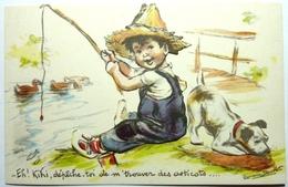 ET ! KIKI , DÉPÊCHE TOI DE M' TROUVER DES ASTICOTS .... - GERMAINE BOURET - Bouret, Germaine
