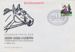 Germany BRD 1981 Cover With Saarbrücken Special Cancel Internationail Fair Internationale Saarmesse - Fabbriche E Imprese