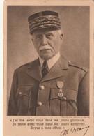 Rare Cpa Philippe Pétain Vichy - 1939-45