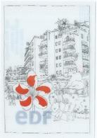 Carte Edf Hologramme - Cartes Postales