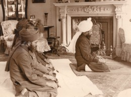 Londres Khalifatul Masih Islam Priere A Chesham Place Ancienne Photo 1924 - Altri