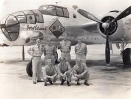 WWII US Army Air Force Colorado Aviation Militaire B25 Jose Carioca II Ancienne Photo 1944 - Aviación