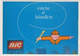 SAVIGNAC Ed Forney - Affiche Publicité Bic Encre à Réaction 1960 Homme Volant - CPM 10,5x15 TBE 1996 Neuve - Savignac