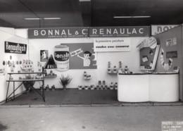 France Foire De Nice Stand Bonnal Renaulac Peintures Ancienne Photo Erpe 1963 - Altri