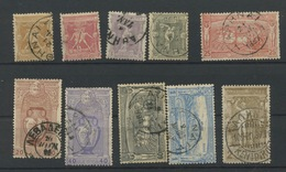 1896 Olympiques.  Ø Entre N° 101 Et 110. Yvert Cote 120,-Euros - 1896 First Olympic Games