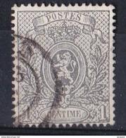 BELG.OBL N° 23 A     OBL. LEGERE   1866 - 1866-1867 Petit Lion (Kleiner Löwe)